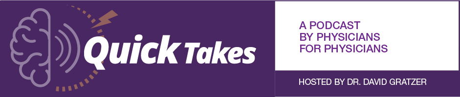 Quick Takes podcast banner