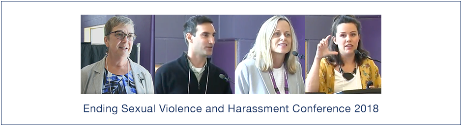 Ending Sexual Violence and Harassment Conference 2018