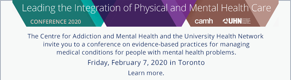 Leading the integration of physical and mental health care 2020