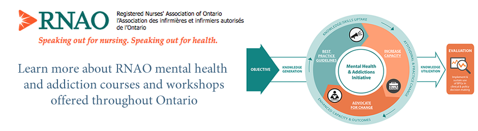 RNAO Mental Health and Addiction Events