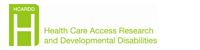 HCARDD - Health Care Access Research and Developmental Disabilties