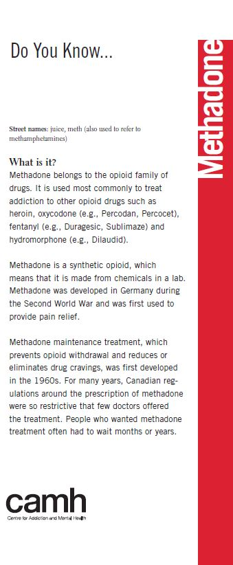 Do You Know Methadone